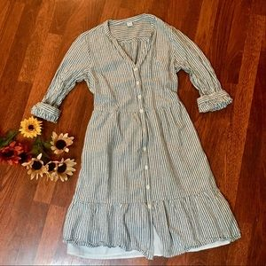 Old navy buttondown dress